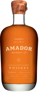 Amador Whiskey Co. Whiskey Ten Barrels...